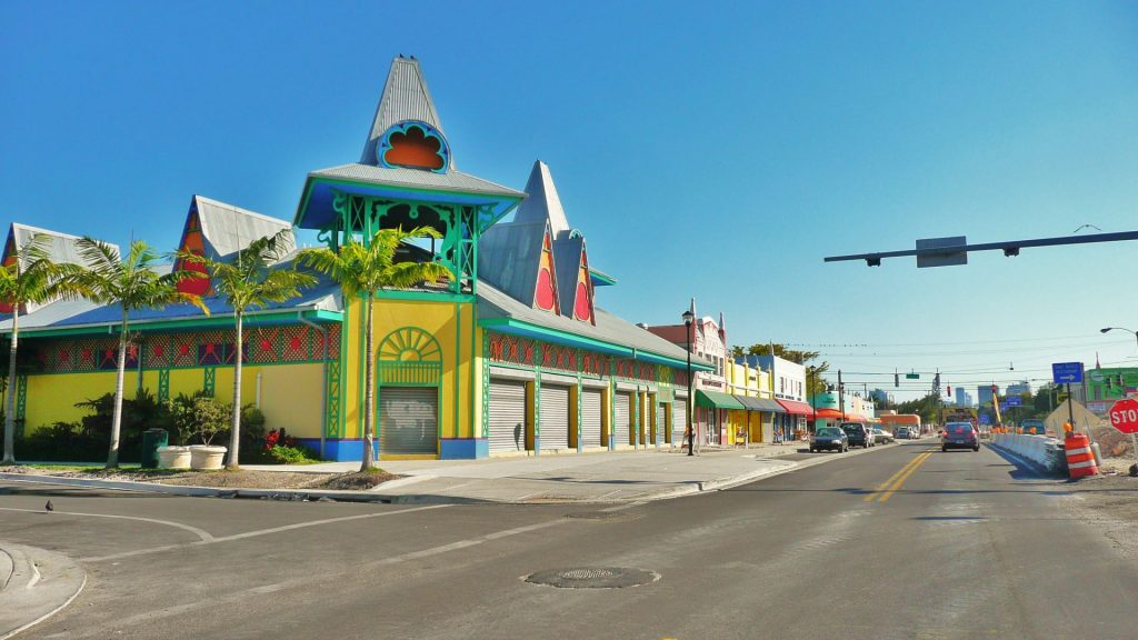 Little Haiti in Miami