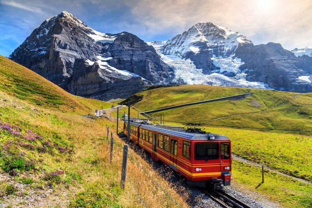European Travel by Train